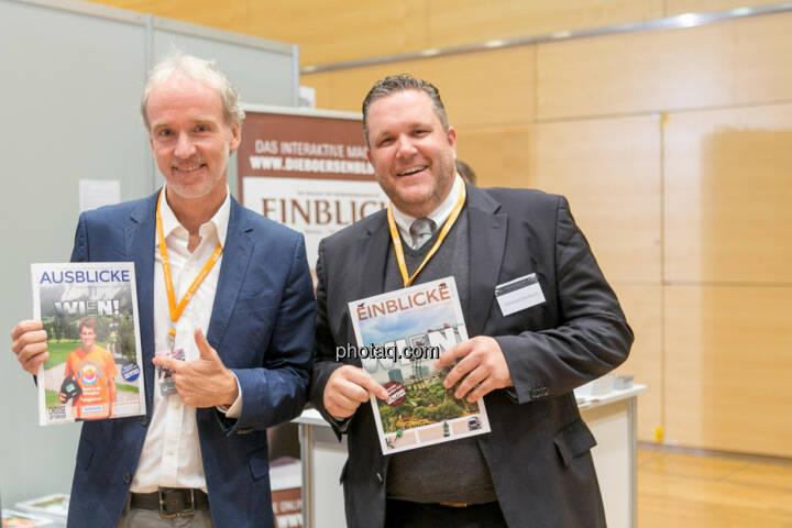 Christian Drastil (BSN), Christoph Scherbaum (Die Börsenblogger)