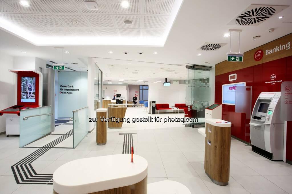 Flagshipfiliale in Linz : Bank Austria eröffnet neue Flagshipfiliale für Oberösterreich in Linz : Fotocredit © Bank Austria, © Aussendung (21.10.2016)