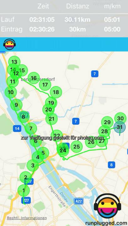 30k via http://www.runplugged.com/app - Kopf-Schulter-Formation