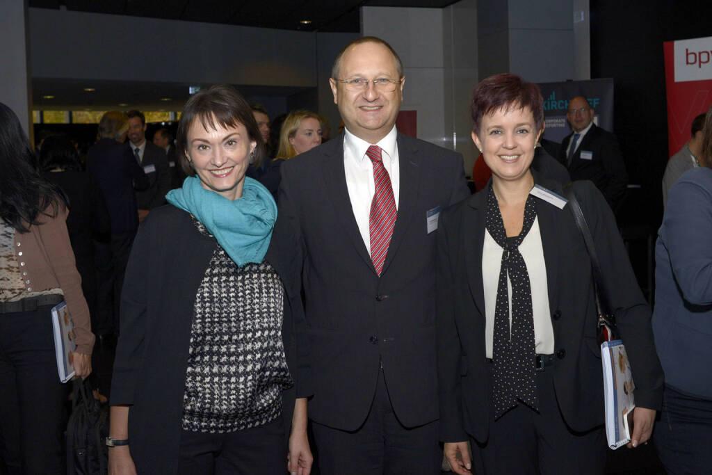 Edith Franc (Wiener Börse), Paul Rettenbacher (Polytec)