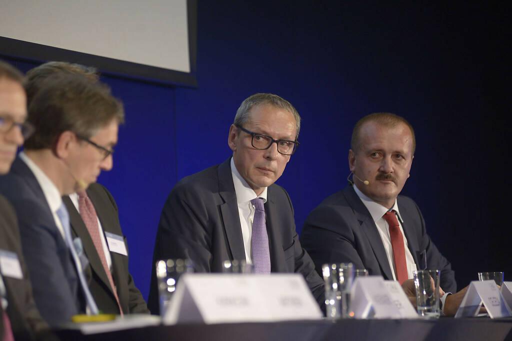 Willi Celeda (Raiffeisen Centrobank AG), Alois Wögerbauer (3 Banken-Generali Investment-Gesellschaft m.b.H.)
