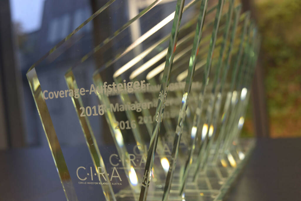 C.I.R.A. Jahreskonferenz 2016, Preise