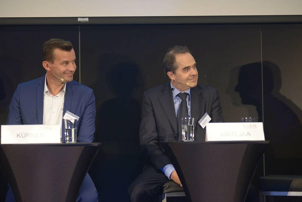 Gerhard Kürner (Lunik 2), Wolfgang Matejka (Matejka & Partner Asset Management GmbH), © C.I.R.A./APA-Fotoservice/Bargad Fotograf/in: Nadine Bargad (23.10.2016)