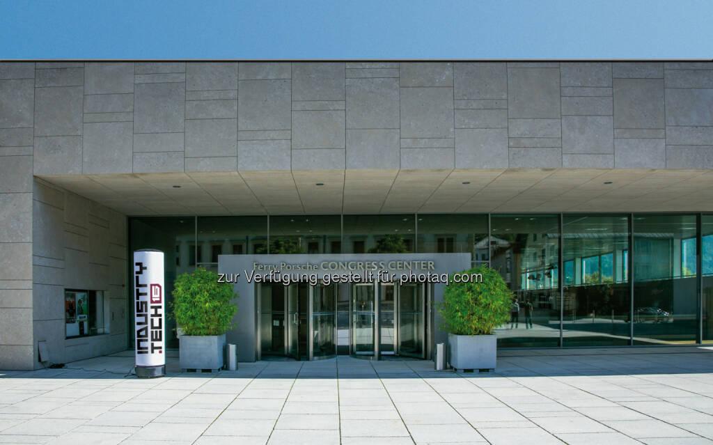 Ferry Porsche Congress Center in Zell am See : Salzburg wird zum Treffpunkt für Industrie 4.0 - industry.tech16 am 9. und 10. November : Fotocredit: Festo (24.10.2016)