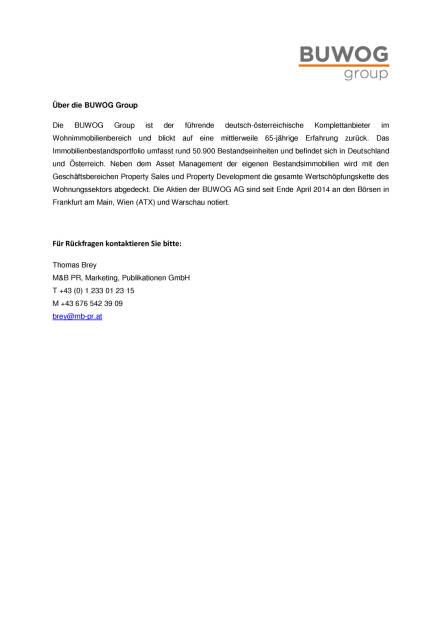 Buwog Group: Spatenstich und Vertriebsstart Karl-Nieschlag-Gasse, Seite 2/2, komplettes Dokument unter http://boerse-social.com/static/uploads/file_1925_buwog_group_spatenstich_und_vertriebsstart_karl-nieschlag-gasse.pdf