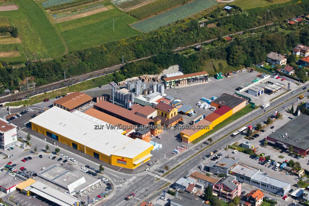 Bitbau Dörr, Zentrale und Produktionsstätte in Innsbruck : Bitbau Dörr feiert sein 150-Jahr-Jubiläum im Zeichen von Tradition und Innovation : Fotocredit: Bitbau Dörr, © Aussendung (24.10.2016)