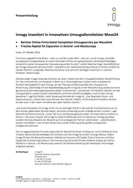 innogy investiert in Umzugsdienstleister Move24, Seite 1/2, komplettes Dokument unter http://boerse-social.com/static/uploads/file_1926_innogy_investiert_in_umzugsdienstleister_move24.pdf