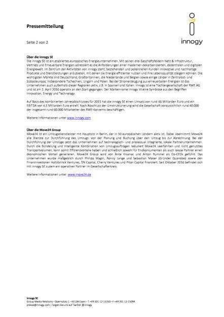 innogy investiert in Umzugsdienstleister Move24, Seite 2/2, komplettes Dokument unter http://boerse-social.com/static/uploads/file_1926_innogy_investiert_in_umzugsdienstleister_move24.pdf