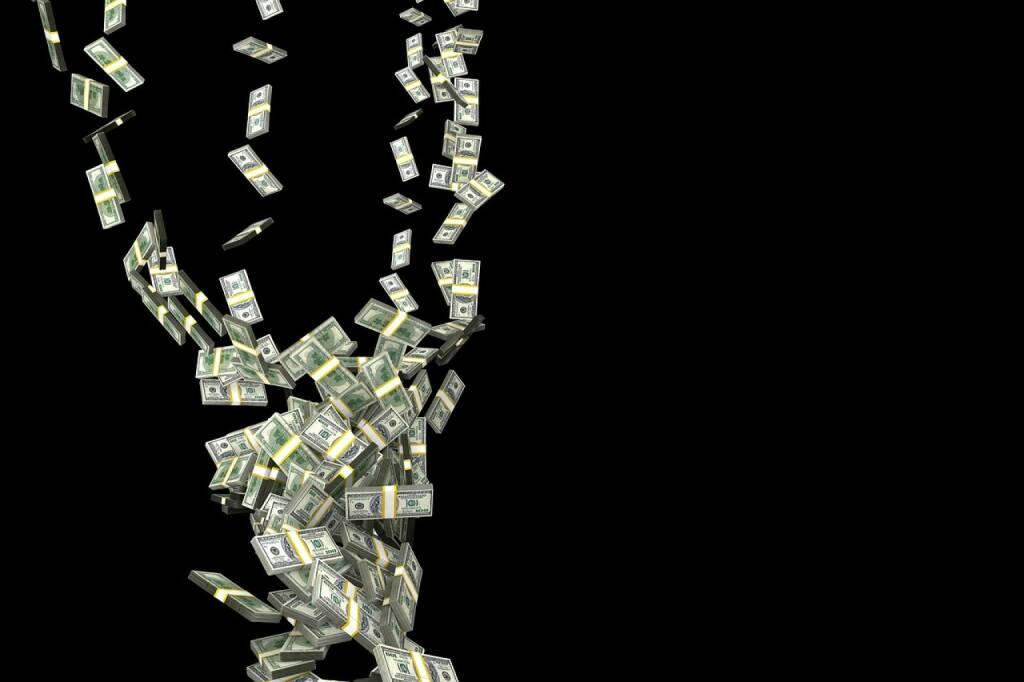 Geld - Dollar - US-Dollar - Verschwenden - (Bild: Pixabay/PublicDomainPictures https://pixabay.com/de/herbst-hurrikan-geld-finanzen-163496/ ) (25.10.2016)