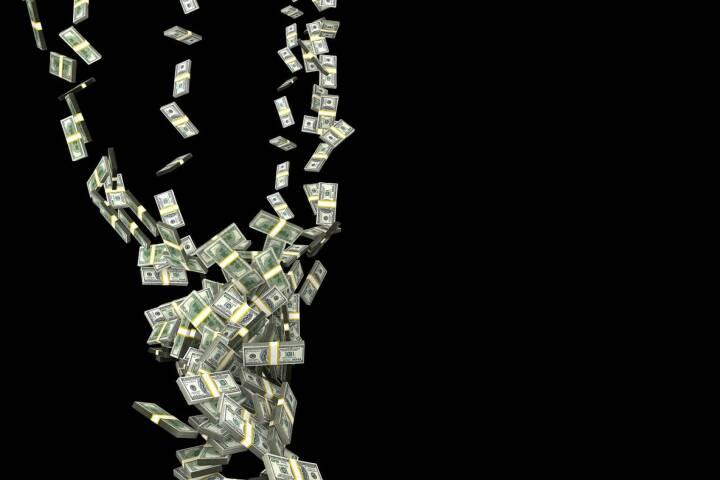 Geld - Dollar - US-Dollar - Verschwenden - (Bild: Pixabay/PublicDomainPictures https://pixabay.com/de/herbst-hurrikan-geld-finanzen-163496/ )