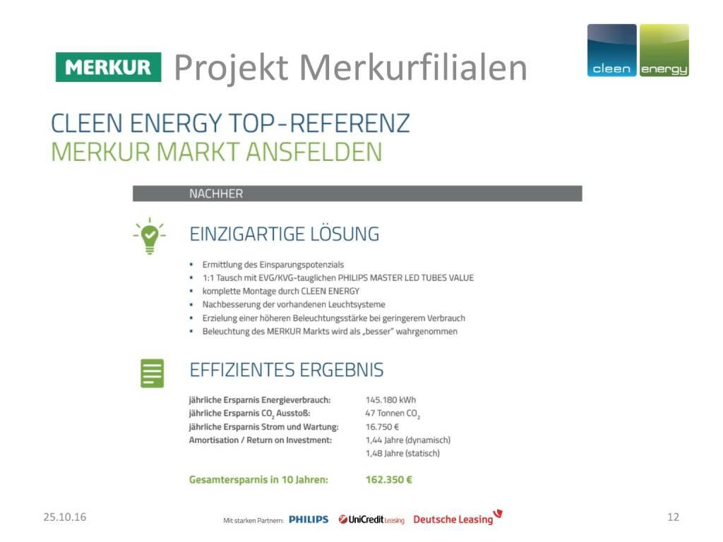 Cleen Energy - Merkur (25.10.2016)