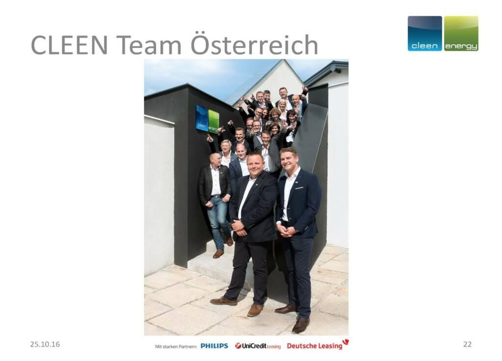 Cleen Energy - Team (25.10.2016)