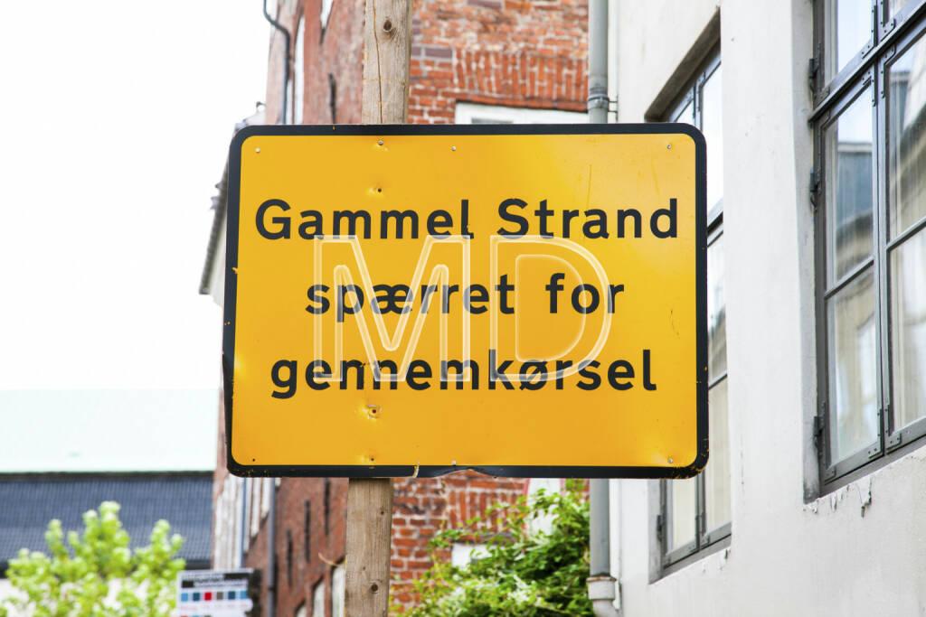 Strassenschild Malmö, Gammel Strand, © Martina Draper (30.04.2013)