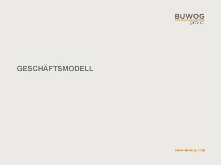 Buwog Group - Geschäftsmodell