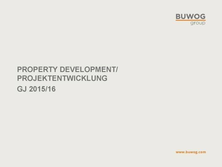 Buwog Group - Property Development