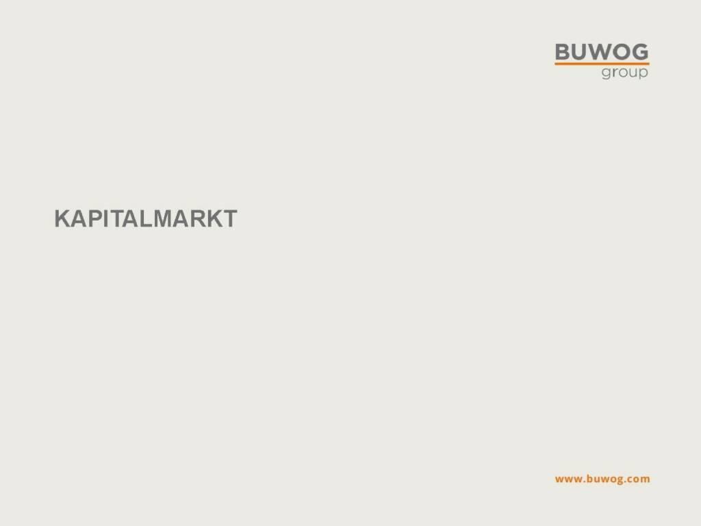 Buwog Group - Kapitalmarkt (25.10.2016)