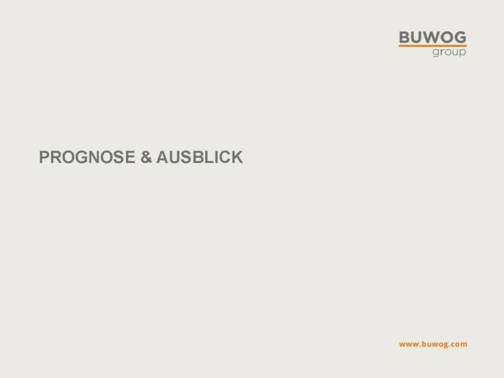 Buwog Group - Prognose & Ausblick