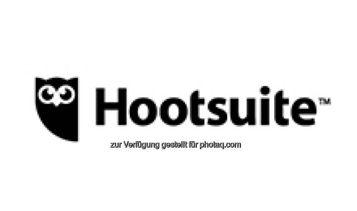Hootsuite Logo : Hootsuite kooperiert mit führenden Lösungsanbietern für Social Media-Werbung und baut seine Social Media Plattform weiter aus : Fotocredit: Hootsuite