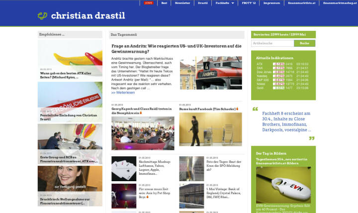 http://www.christian-drastil.com am 1.5.2013 Abends
