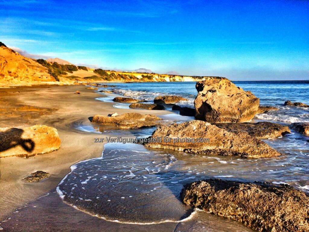 wieder ein neuer Strand (26.10.2016)