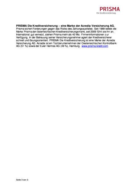 Prisma Die Kreditversicherung: Kopf-an-Kopf-Rennen der Chemieunternehmen in Europa und den USA, Seite 3/3, komplettes Dokument unter http://boerse-social.com/static/uploads/file_1941_prisma_die_kreditversicherung_kopf-an-kopf-rennen_der_chemieunternehmen_in_europa_und_den_usa.pdf (27.10.2016)