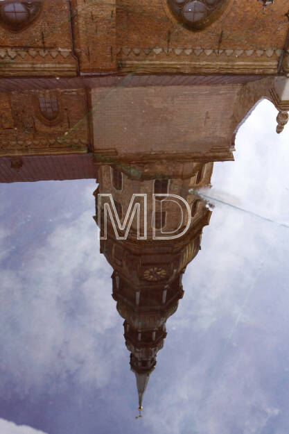 Spiegelung, Kirche, © Martina Draper (02.05.2013)