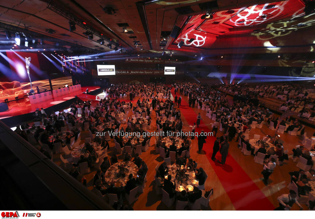 Lotterien Gala Nacht des Sports Photo: GEPA pictures/ Hans Oberlaender (28.10.2016)