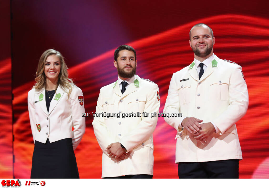 Ivona Dadic, Benjamin Maier and Lukas Weisshaidinger (AUT) Photo: GEPA pictures/ Christian Walgram (28.10.2016)