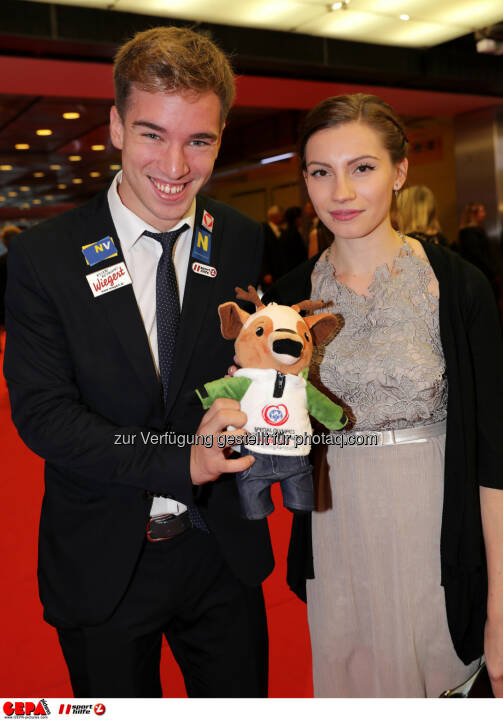 Andreas Onea (AUT) and his girlfriend Photo: GEPA pictures/ Walter Luger
