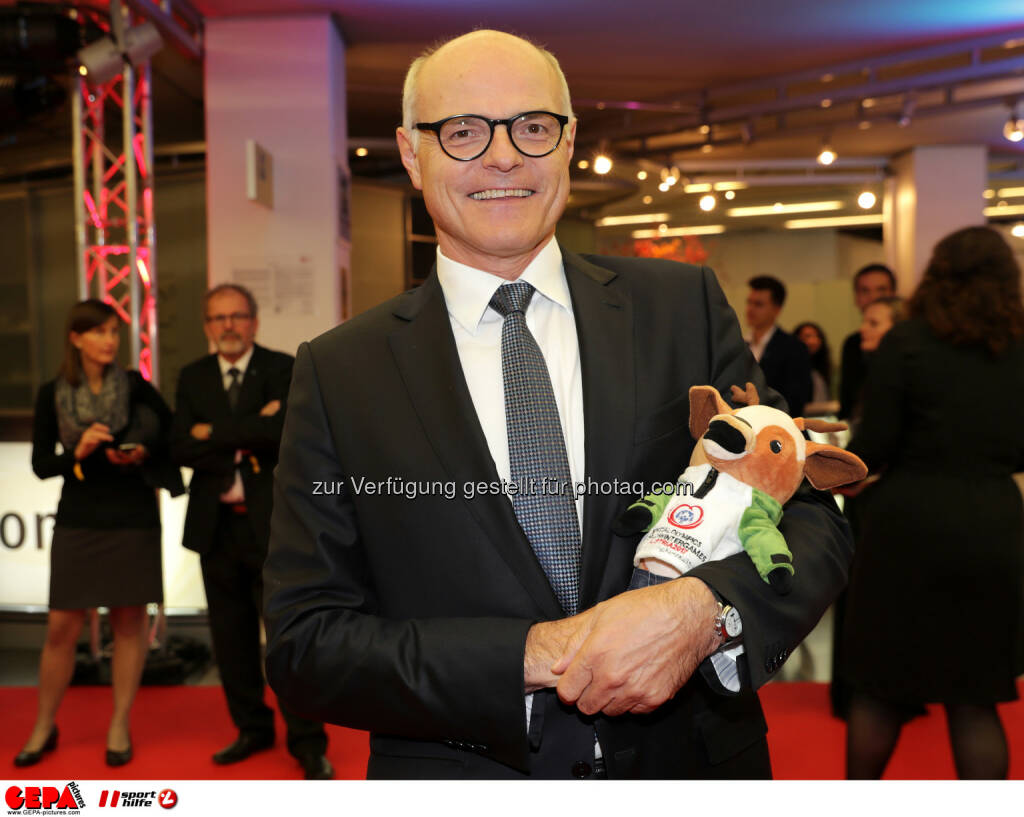 President Karl Stoss (OEOC) Photo: GEPA pictures/ Walter Luger (28.10.2016)