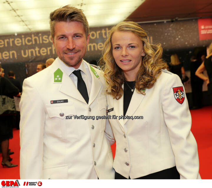 Thomas Zajac and Tanja Frank (AUT) Photo: GEPA pictures/ Walter Luger