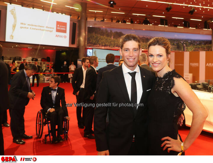 Benjamin and Marlies Raich Photo: GEPA pictures/ Hans Oberlaender