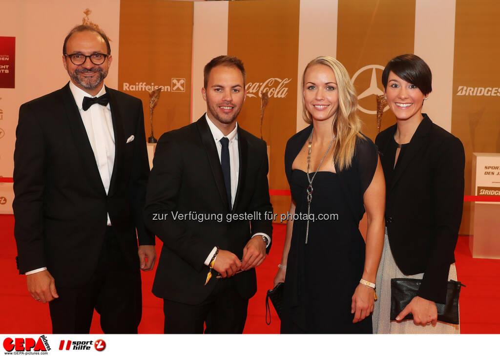 Jasmin Ouschan (AUT) and guests Photo: GEPA pictures/ Hans Oberlaender (28.10.2016)