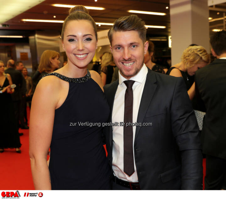 Marcel Hirscher (AUT) and Laura Photo: GEPA pictures/ Walter Luger