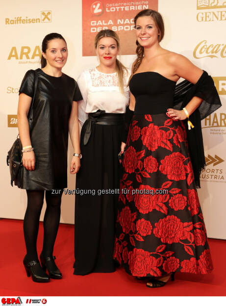 Andrea Limbacher (AUT) and guests Photo: GEPA pictures/ Walter Luger (28.10.2016)