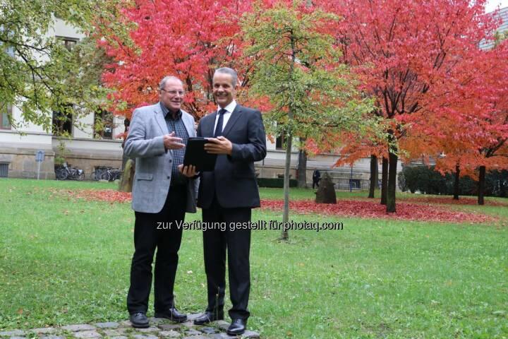 Öffentliche WLan-Zonen sollen ausgebaut werden: das Sächsische Staatsministerium des Inneren schließt eine Kooperation mit der IT-Innerebner GmbH, Entwickler des WLan-Netzes free-key (Bild: IT-Innerebner GmbH)