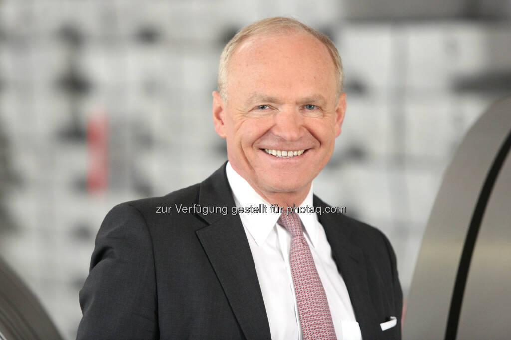 Helmut Wieser, Vorstandsvorsitzender der Amag Austria Metall AG- Amag legt Quartalsbericht vor (Bild: Amag / Walkolbinger), © Aussender (03.11.2016)