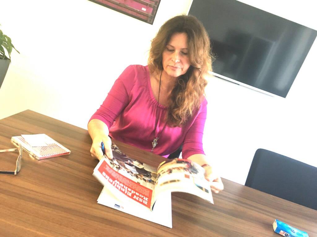 Mit Ingrid Gindele-Lovric, Deutsche Handelskammer in Österreich (03.11.2016)