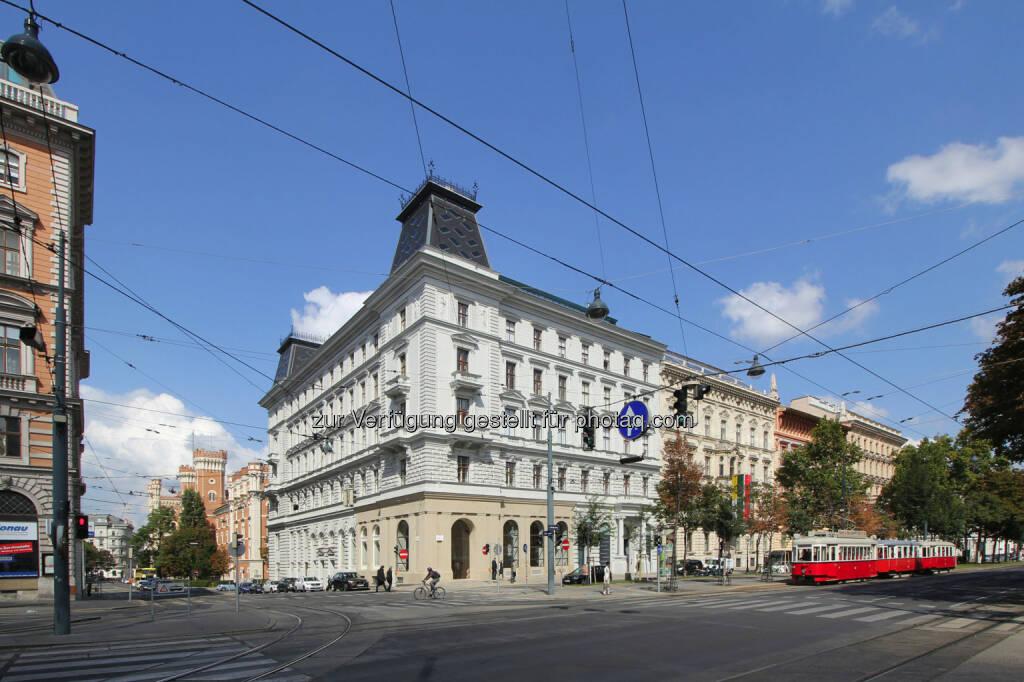 """Die Bank Austria Real Invest Immobilien KAG für den offenen Immobilienfonds """"Real Invest Austria"""" ist neuer Eigentümer der ehemaligen k.u.k. Frucht- und Mehlbörse. Cbre hat vermittelt., © Aussendung (04.11.2016)"""