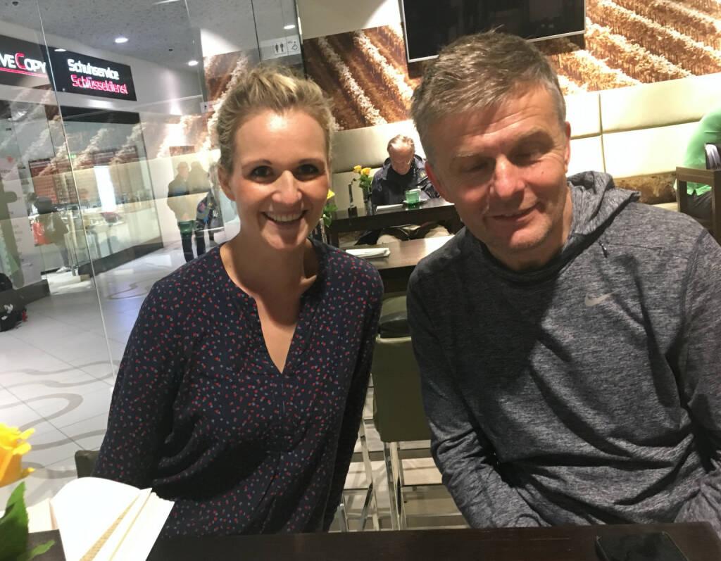 Mit Adina Zimmermann und Michael Wernbacher, Wemove Running Store (04.11.2016)