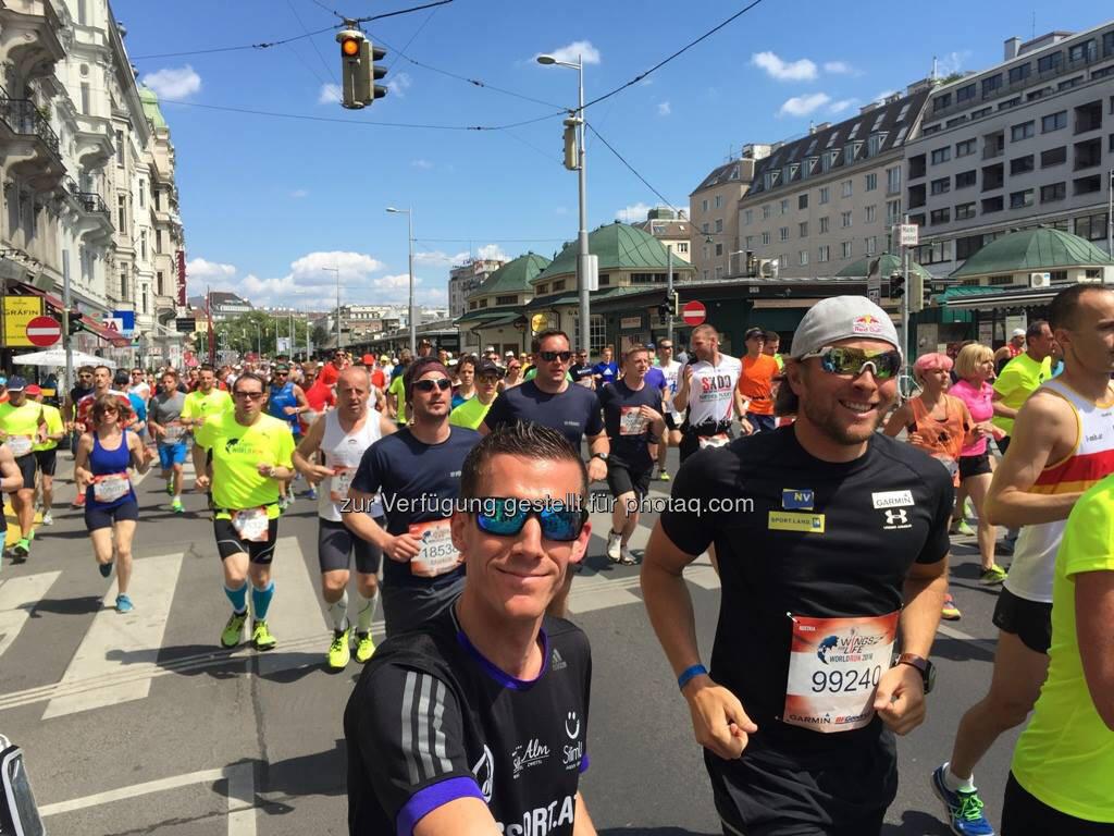 Werner Schrittwieser beim Wings for Life Worldrun (07.11.2016)