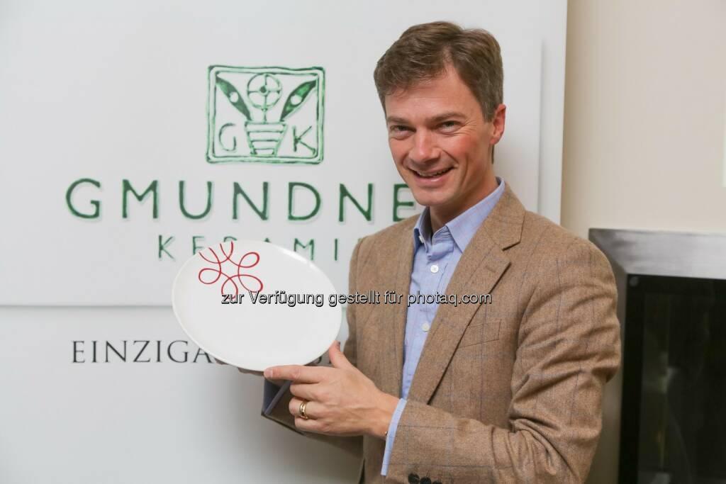 Jakob von Wolff: Geschäftsführer Gmundner Keramik - Gmundner Keramik weiter im Aufschwung: Erfolgreich durch Innovation (Bild: Gmundner Keramik/APA-Fotoservice/Tanzer), © Aussender (08.11.2016)
