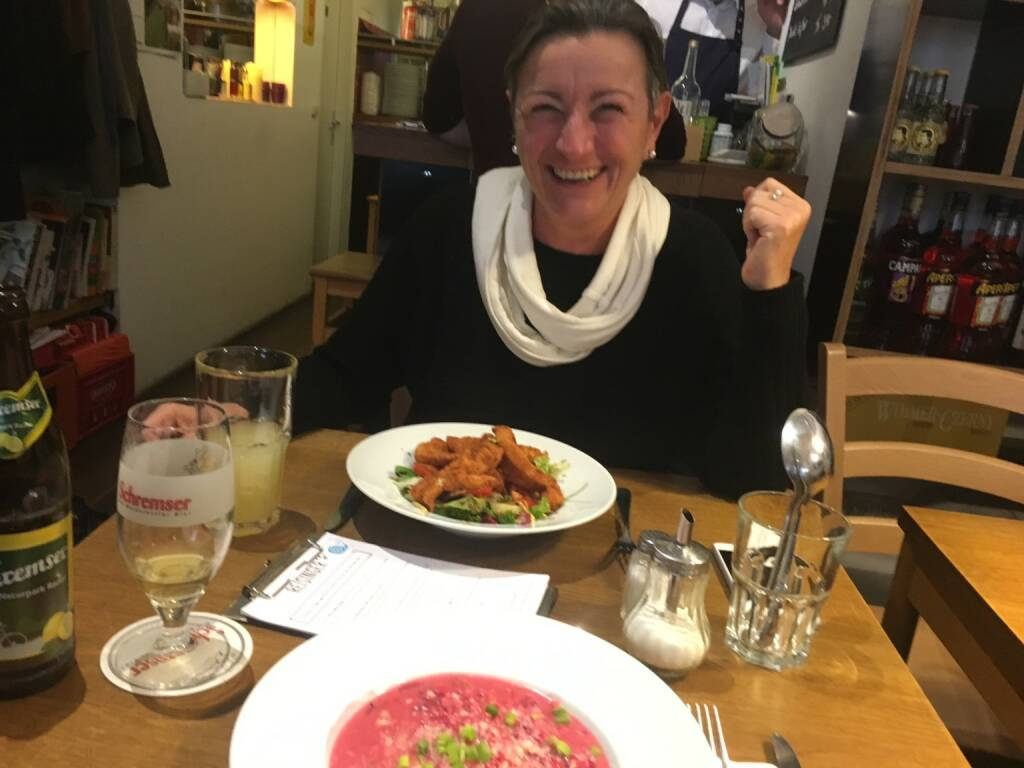 Brainstormen mit der grossartigen Verena Nowotny (Gaisberg) (09.11.2016)