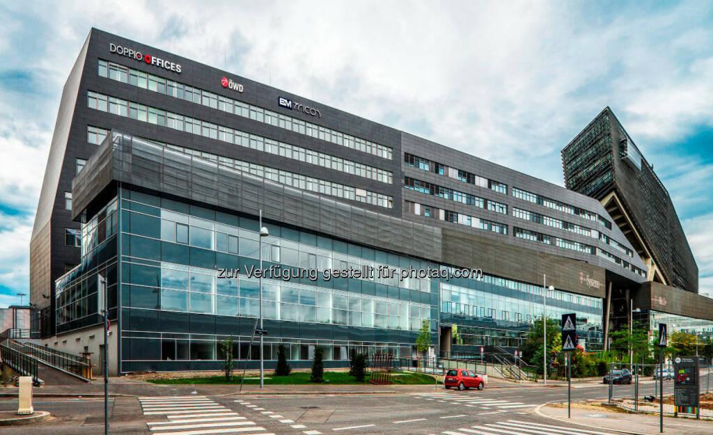 UBM verkauft Wiener Bestandsimmobilie Doppio Offices für rund EUR 20 Mio. an Union Investment (Bild: Anna Blau/UBM), © Aussendung (10.11.2016)