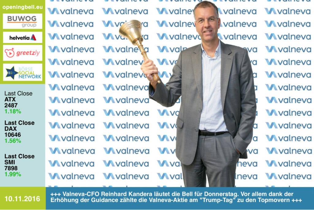 Ergebnis: Valneva-CFO Reinhard Kandera für http://www.openingbell.eu (10.11.2016)