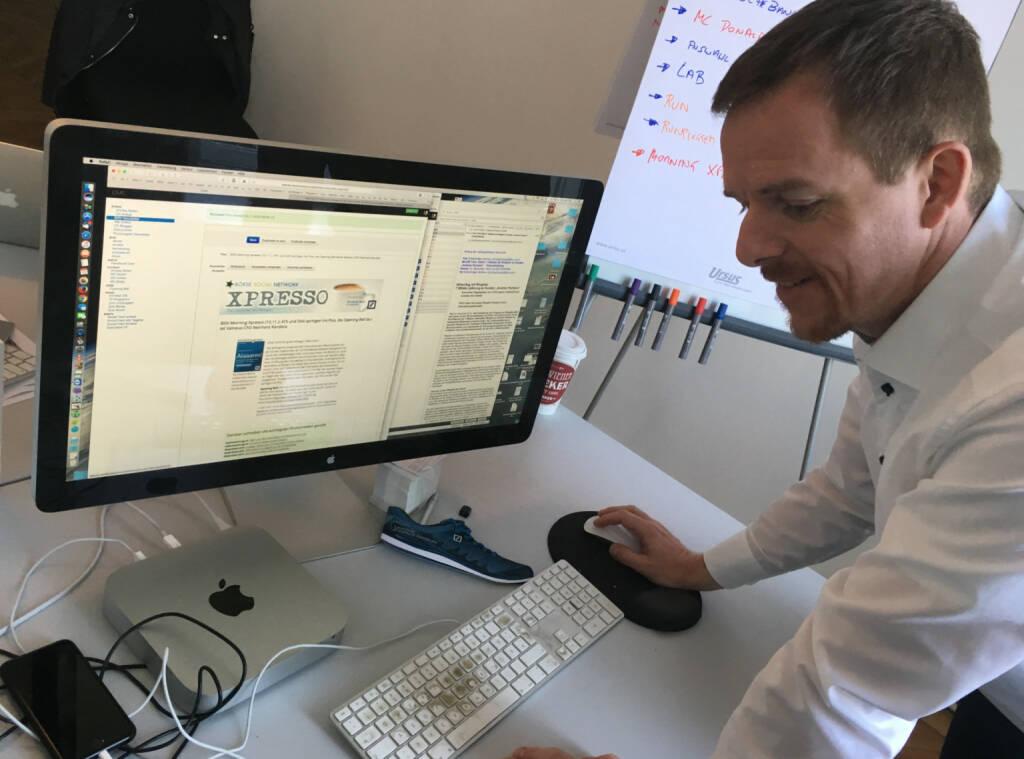Christian-Hendrik Knappe verschickt unseren - in Kooperation mit der Deutsche Bank erstellten - Newsletter Morning Xpresso, siehe http://www.boerse-social.com/newsletter (10.11.2016)