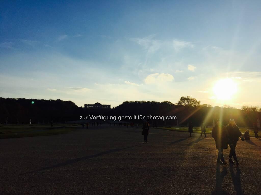 Sonne meets Schönbrunn (10.11.2016)