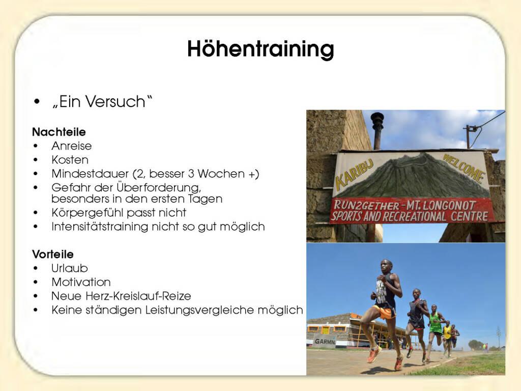 Höhentraining - Sandrina Illes (15.11.2016)