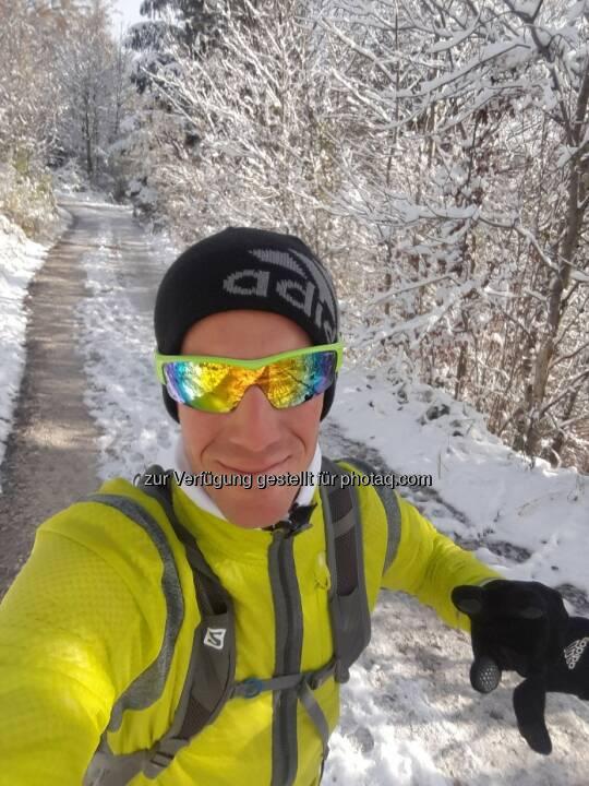 Werner Schrittwieser,, Schnee, laufen
