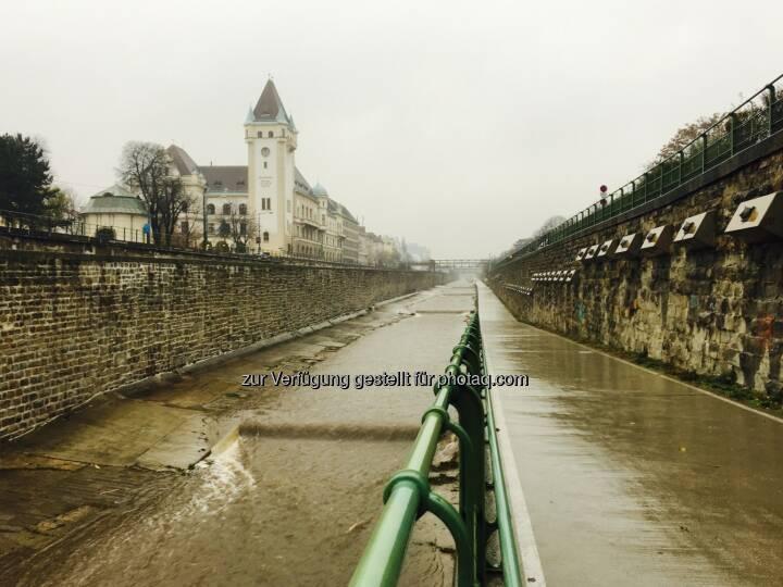 trist... trister... Wiental bei Regen!